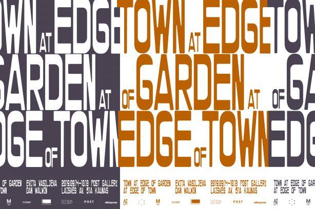 Evita Vasiljeva & Dan Walwin – Town at Edge of Garden at Edge of Town