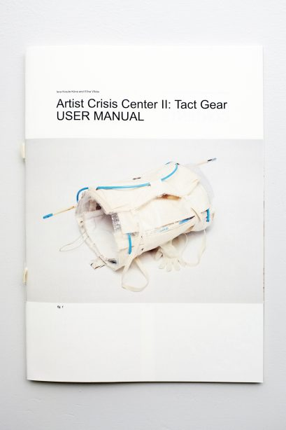 Ieva Kraule-Kuna & Elina Vitola – Artist Crisis Center II: Tact Gear User Manual